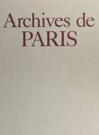 Archives de Paris
