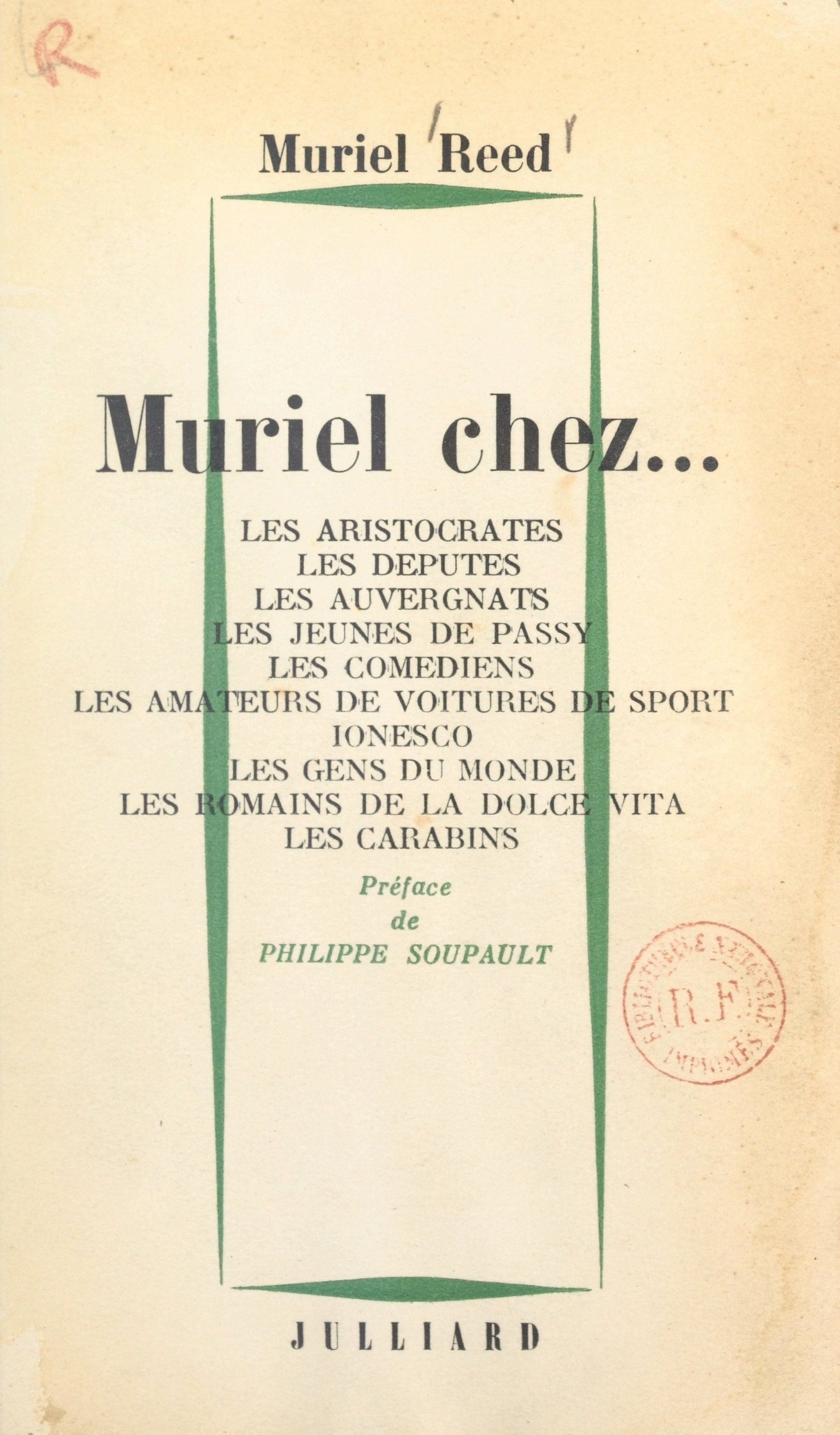 Muriel chez...