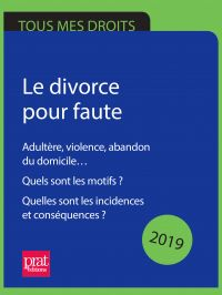 Le divorce pour faute 2019