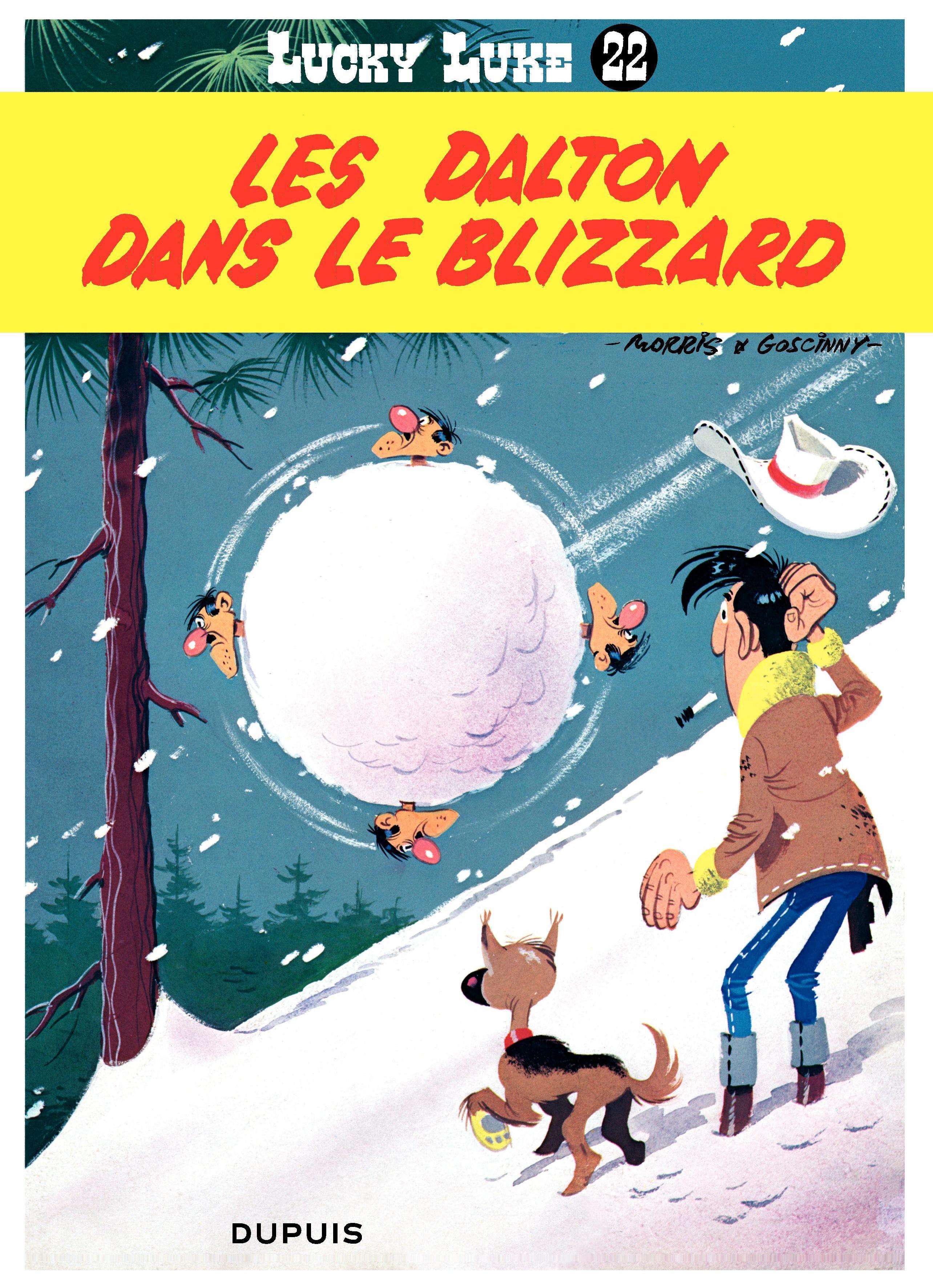 Lucky Luke - Tome 22 - LES DALTON DANS LE BLIZZARD | Morris,
