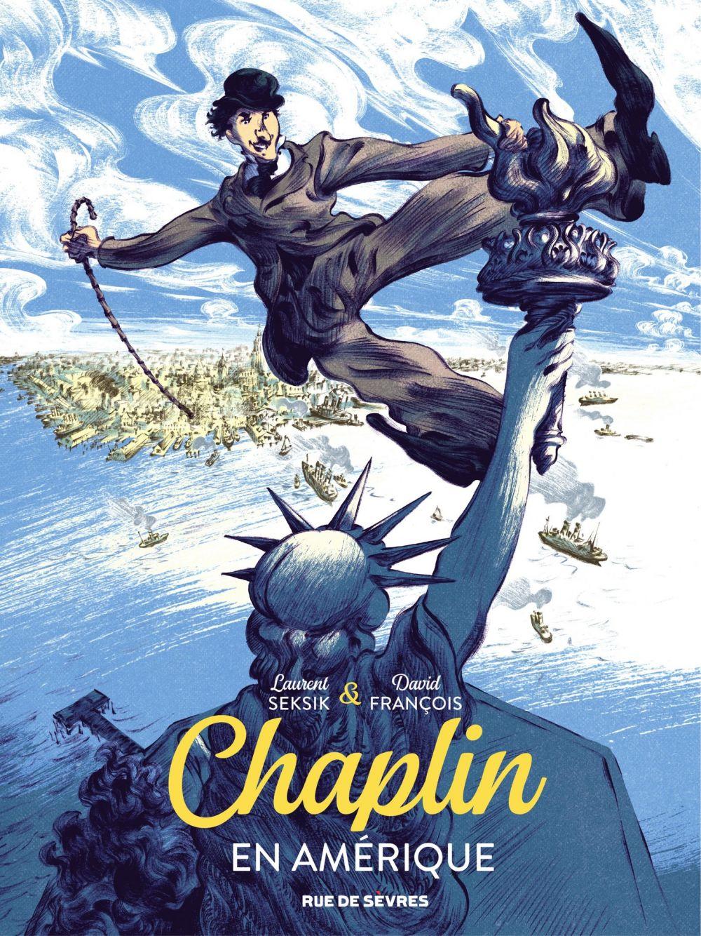 Chaplin En Amérique | Seksik, Laurent (1962-....). Auteur