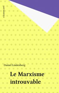 Le Marxisme introuvable