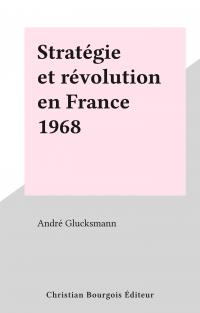 Stratégie et révolution en ...