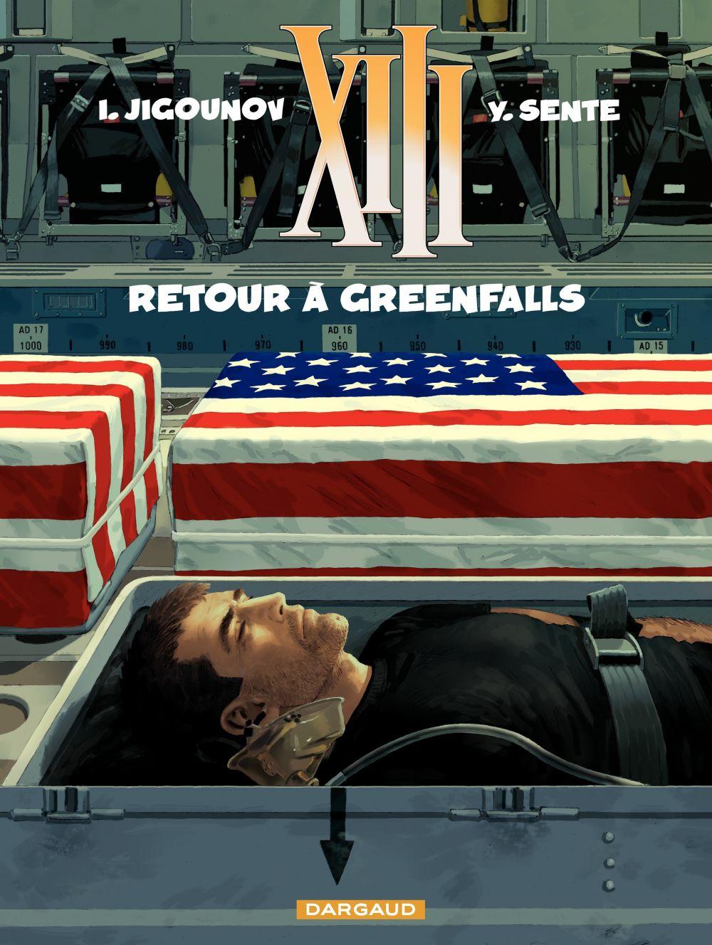 XIII - Tome 22 - Retour à Greenfalls | Sente, Yves (1964-....). Auteur
