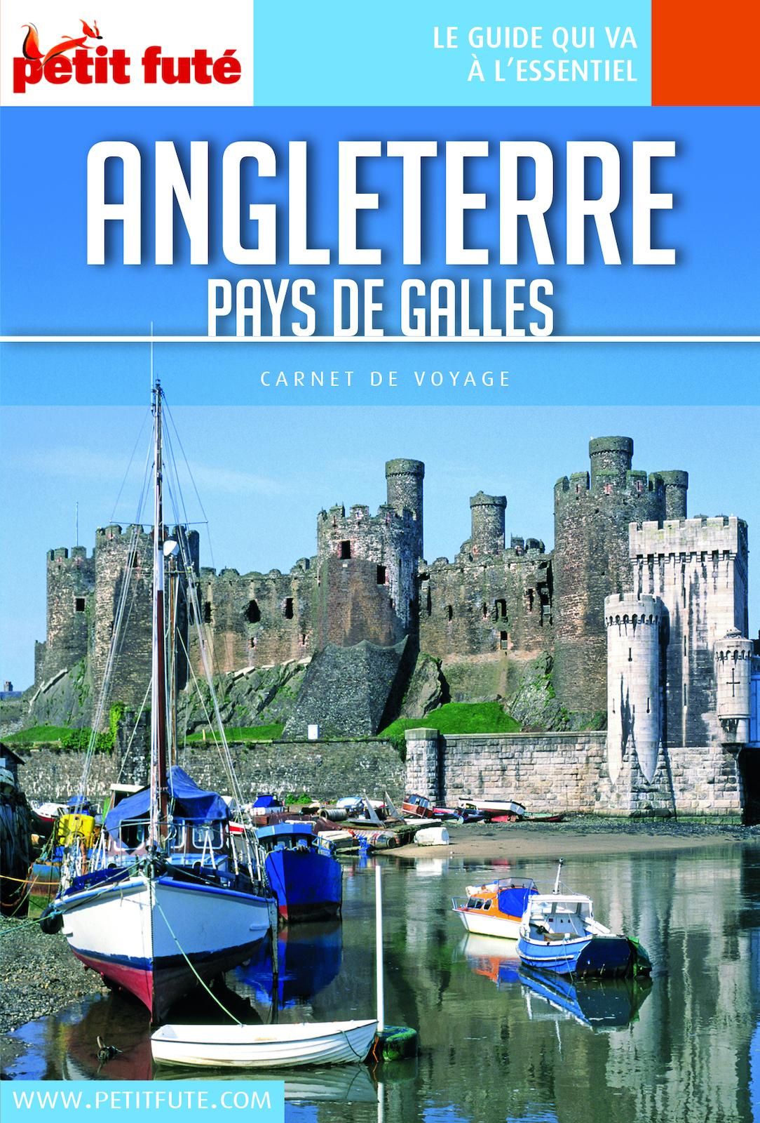 ANGLETERRE / PAYS DE GALLES 2018 Carnet Petit Futé | Auzias, Dominique