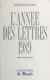 L'année des lettres 1989