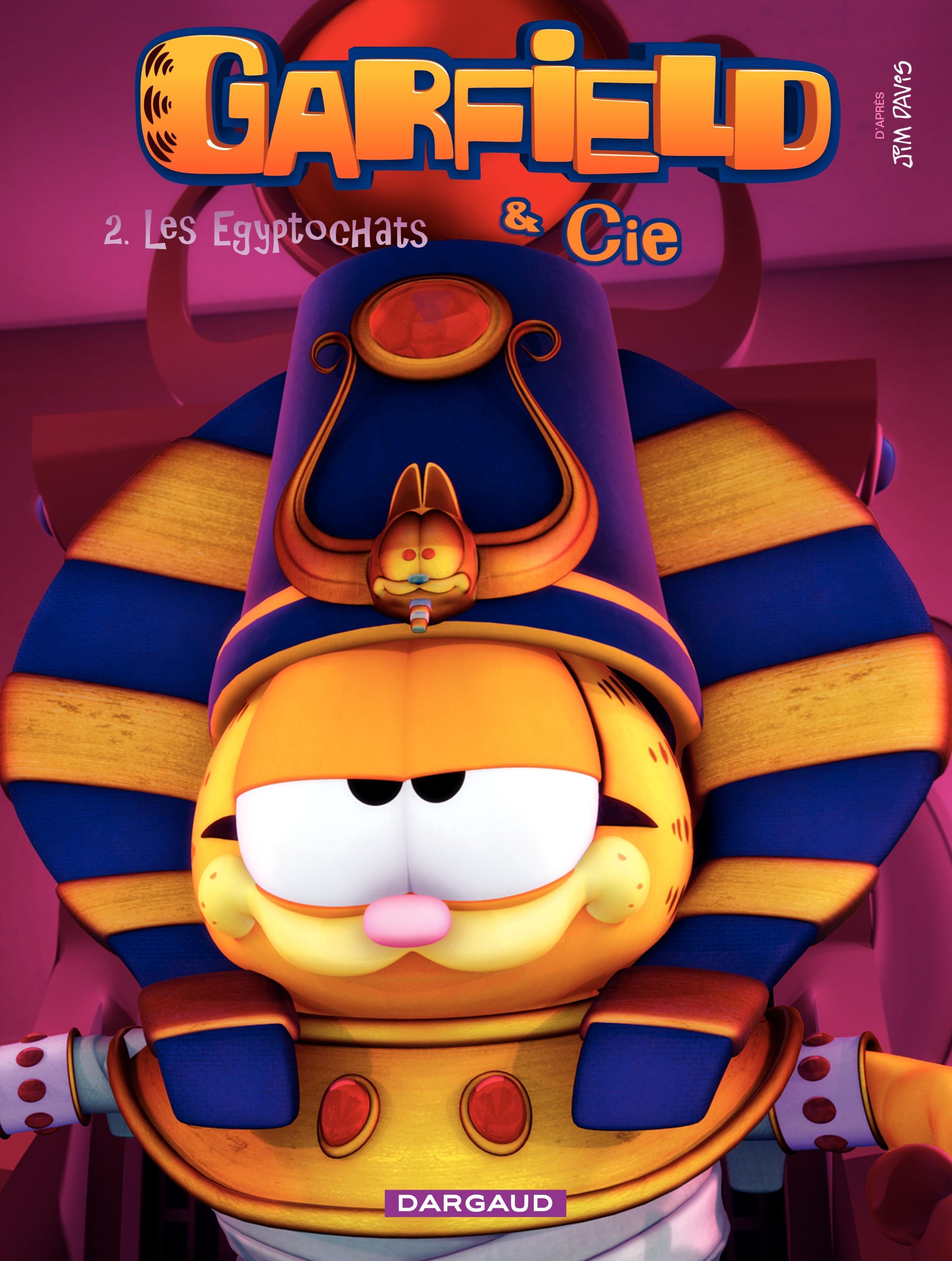 Garfield et Cie - Tome 2 - Egyptochat (2)