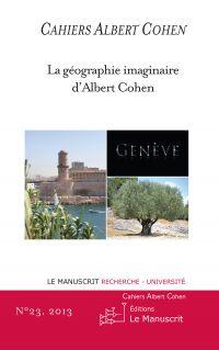 Cahiers Albert Cohen N°23