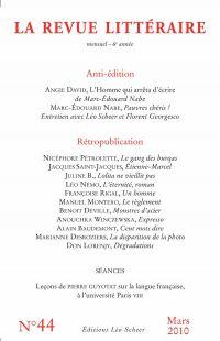 La Revue Littéraire N°44