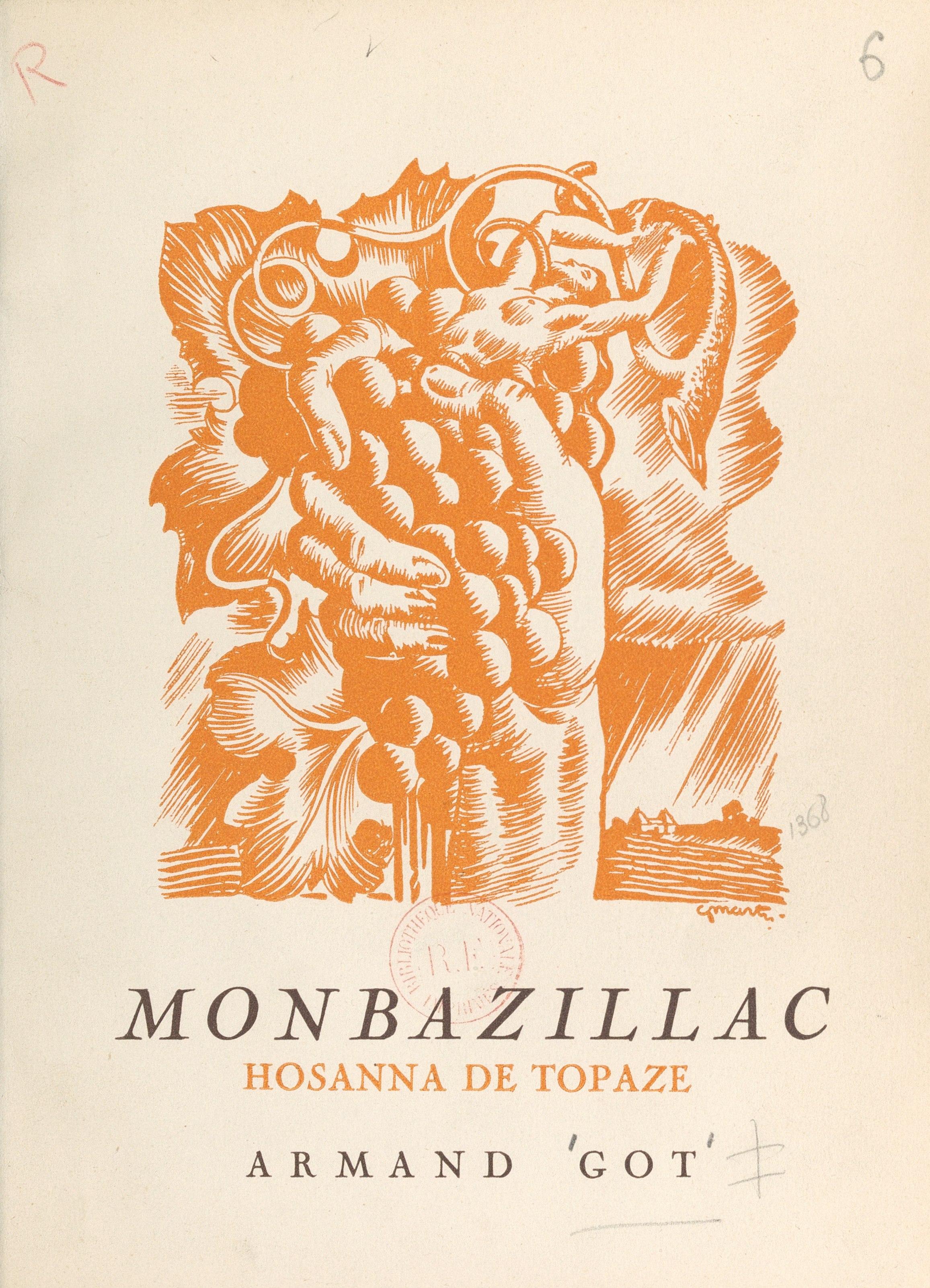 Monbazillac, hosanna de topaze