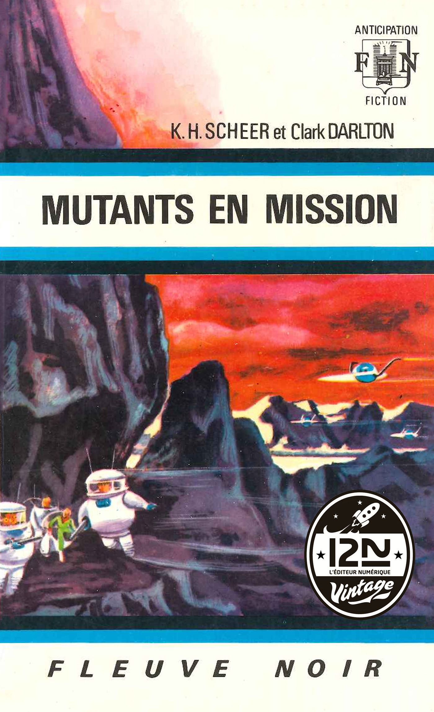 Perry Rhodan n°14 - Mutants en mission