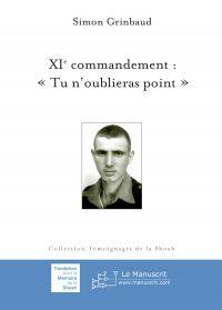 """XIe commandement: """"Tu n'oub..."""
