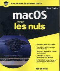 Image de couverture (macOS édition Catalina pour les Nuls)
