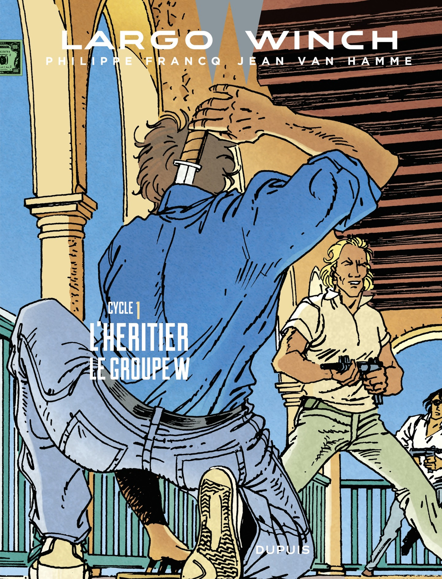 Largo Winch - Diptyques - tome 1 - Diptyque Largo Winch 1/10