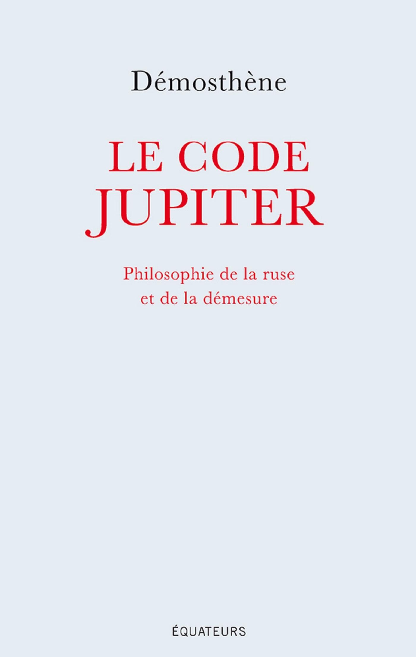 Le code Jupiter. Philosophi...