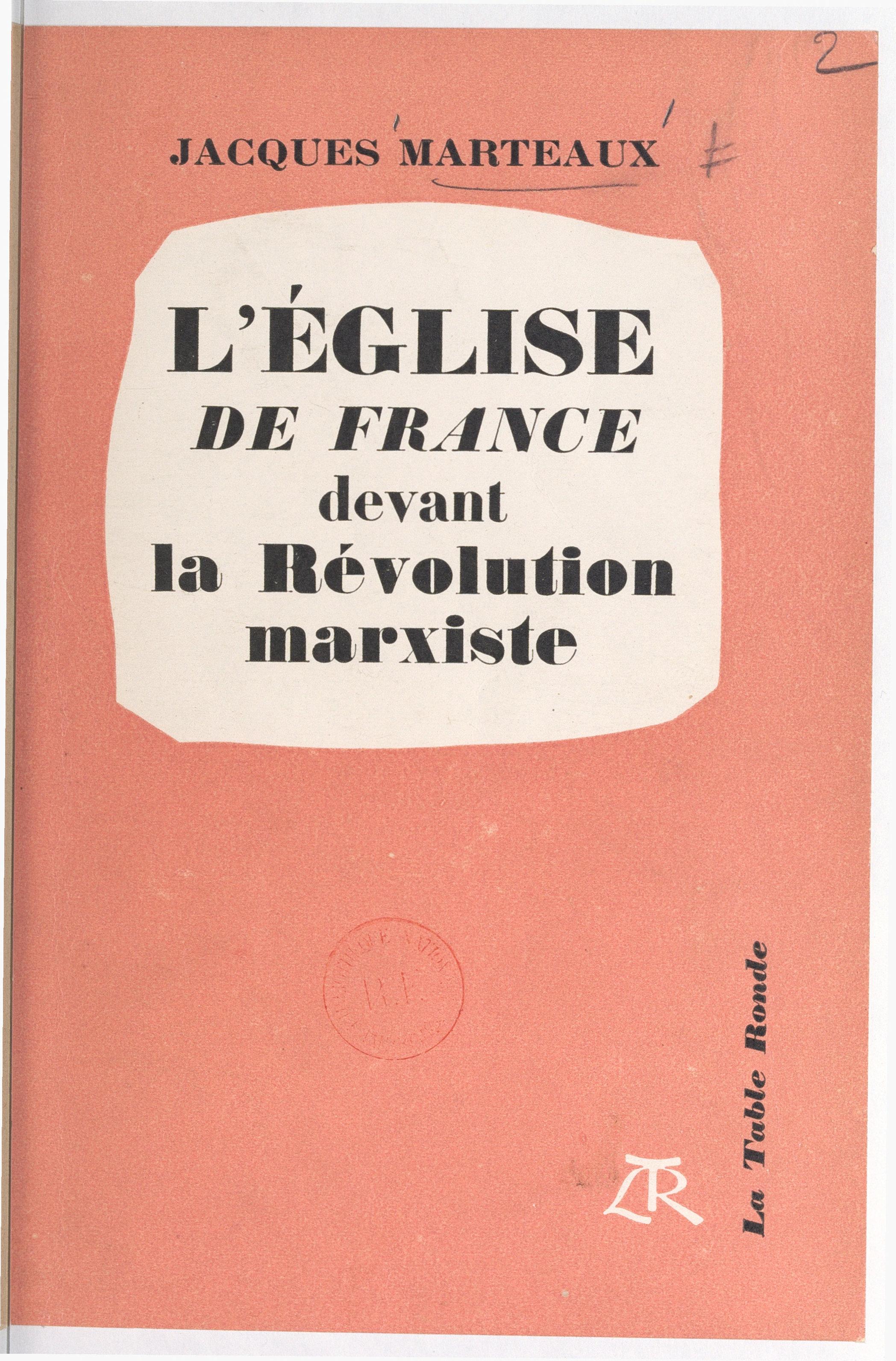 L'Église de France devant l...