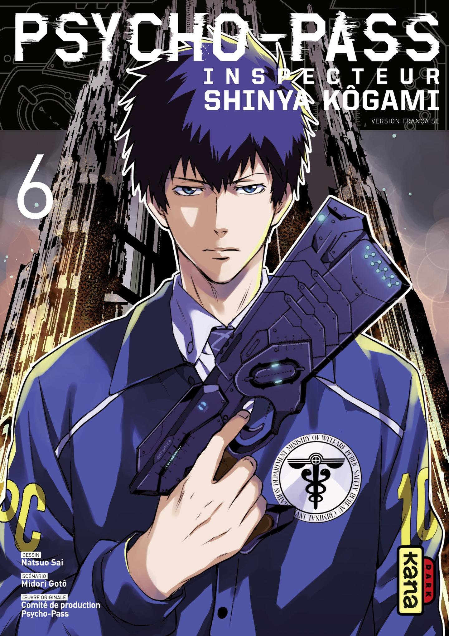 Psycho-Pass Inspecteur Shin...