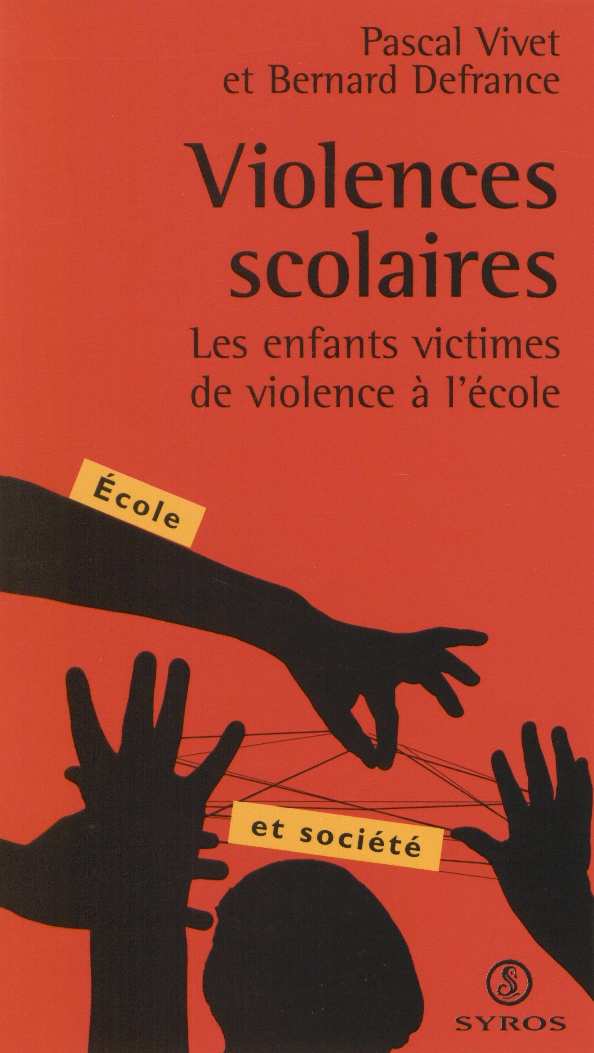 Violences scolaires, Les enfants victimes de la violence à l'école