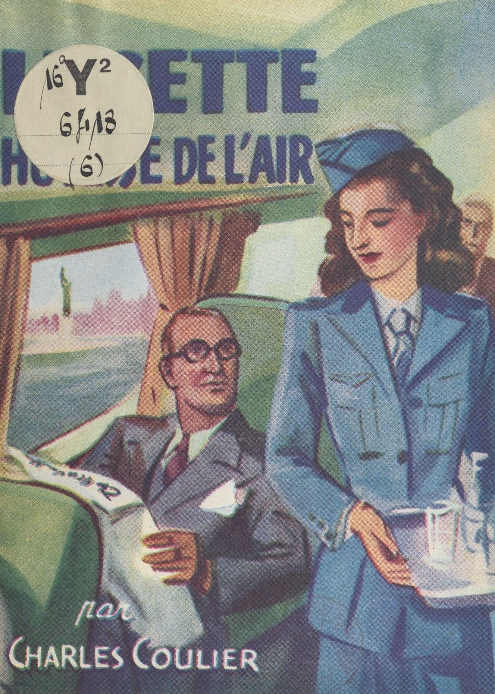 Lucette, hôtesse de l'air