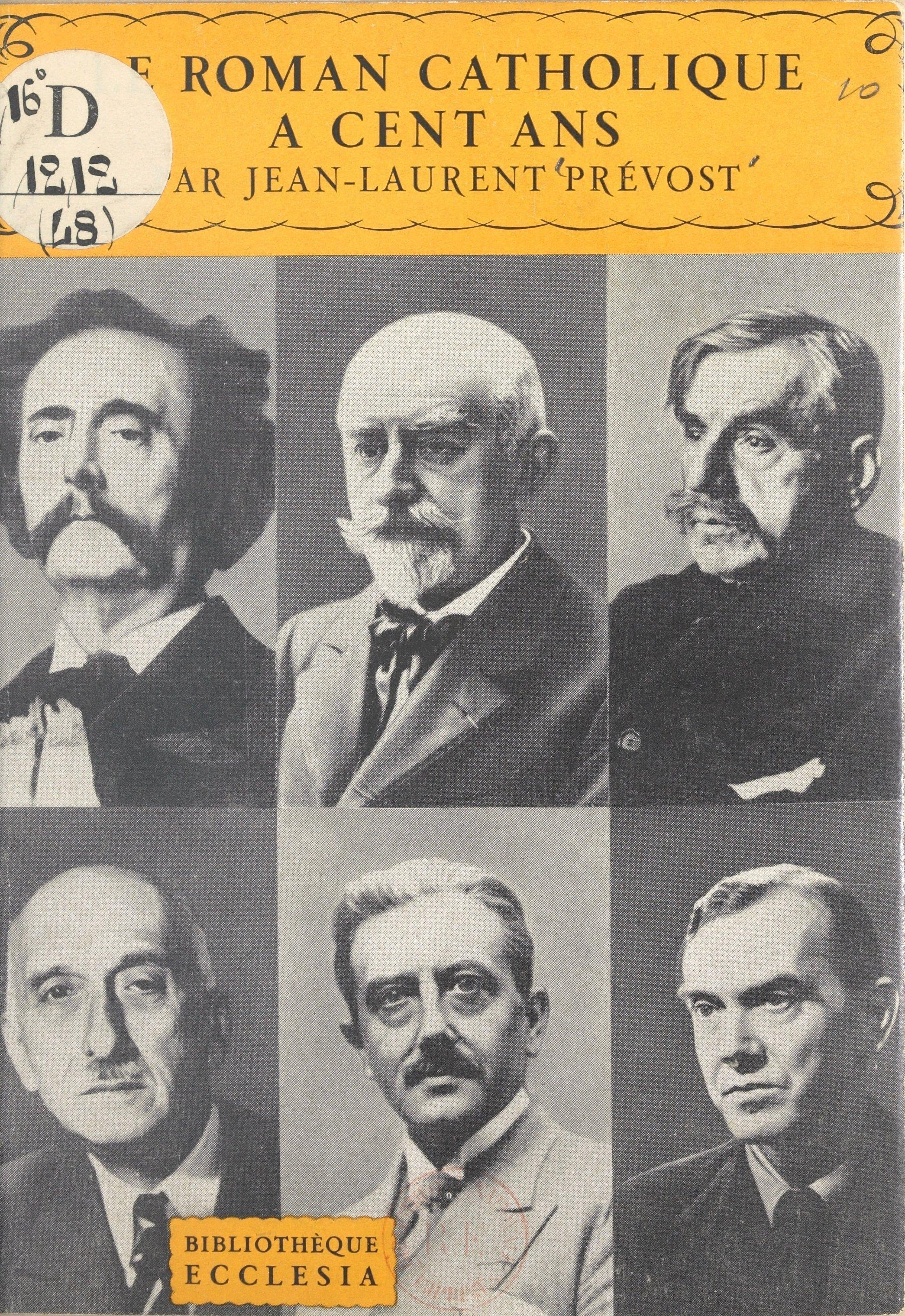 Le roman catholique à cent ans