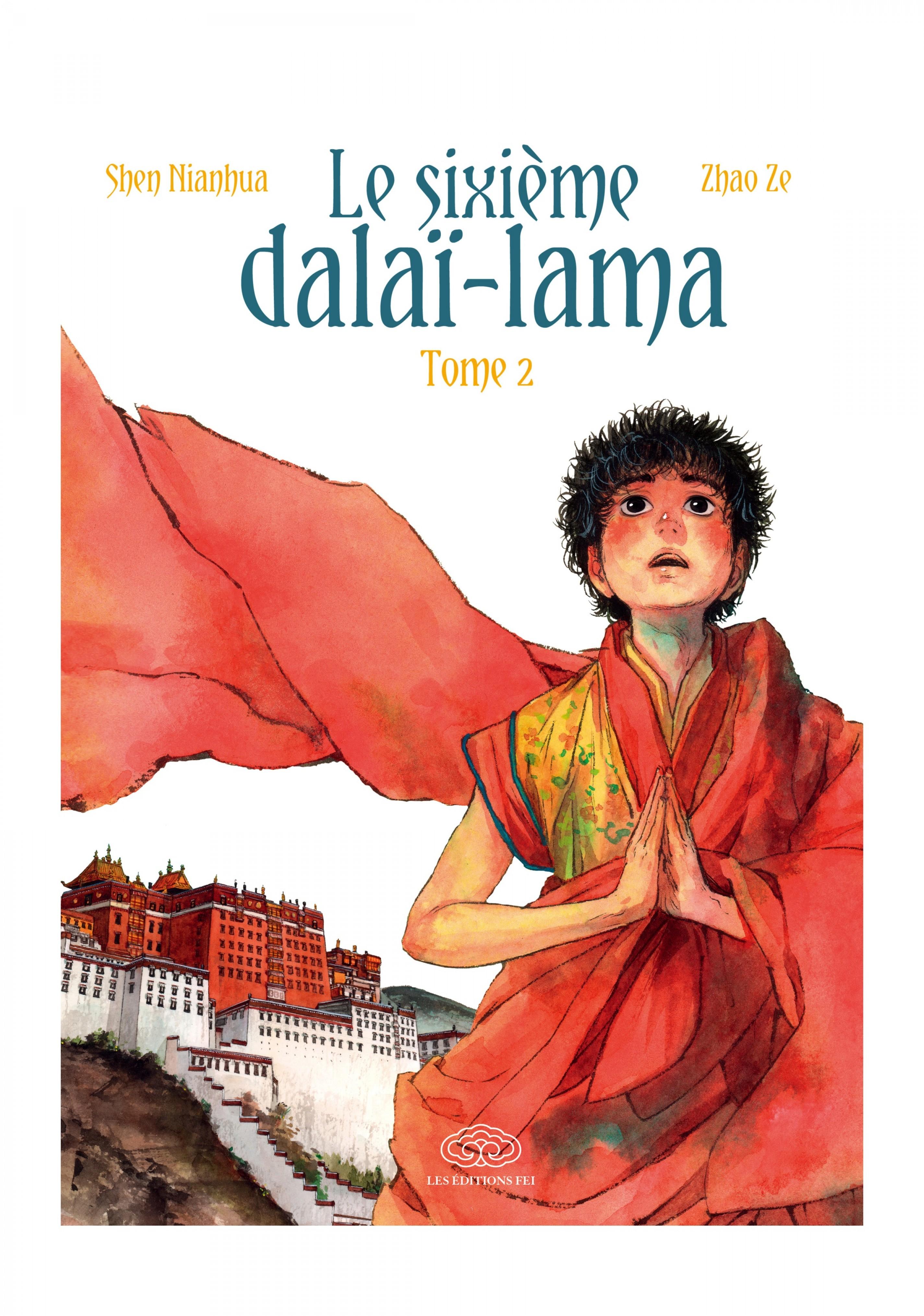 Le sixième dalaî-lama - Tom...