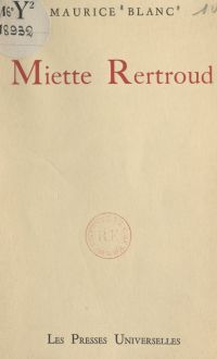Miette Rertroud