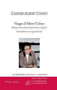Cahiers Albert Cohen N°13