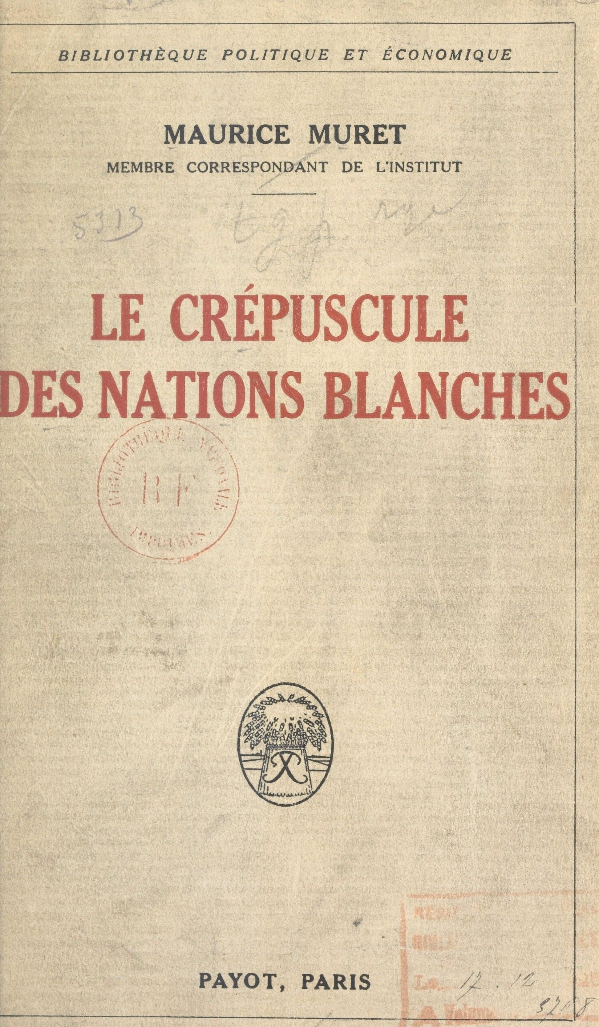 Le crépuscule des nations b...