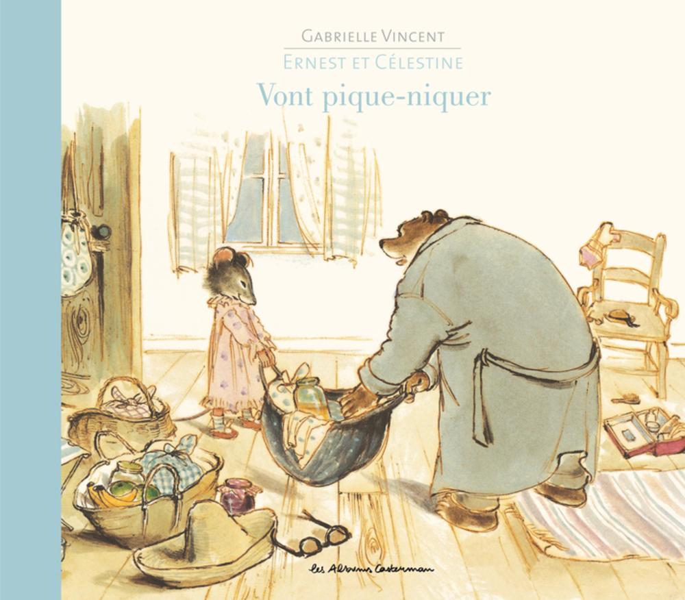 Ernest et Célestine vont pique-niquer | Vincent, Gabrielle. Auteur