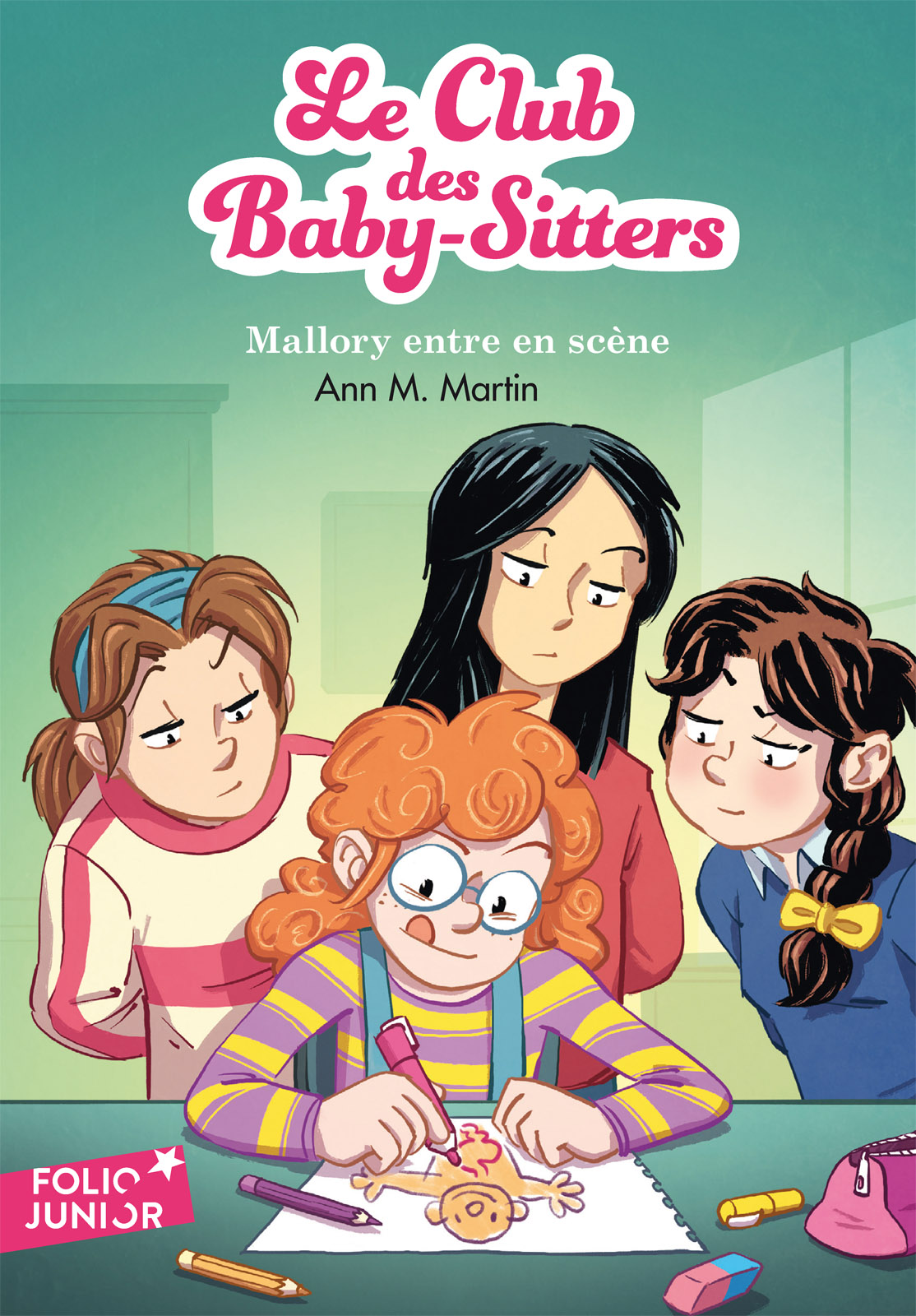 Le Club des Baby-Sitters (Tome 14) - Mallory entre en scène