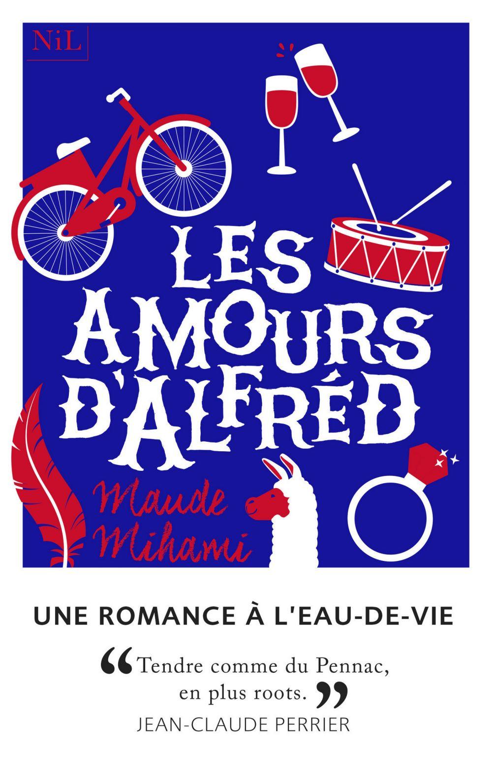 Les Amours d'Alfréd | MIHAMI, Maude. Auteur