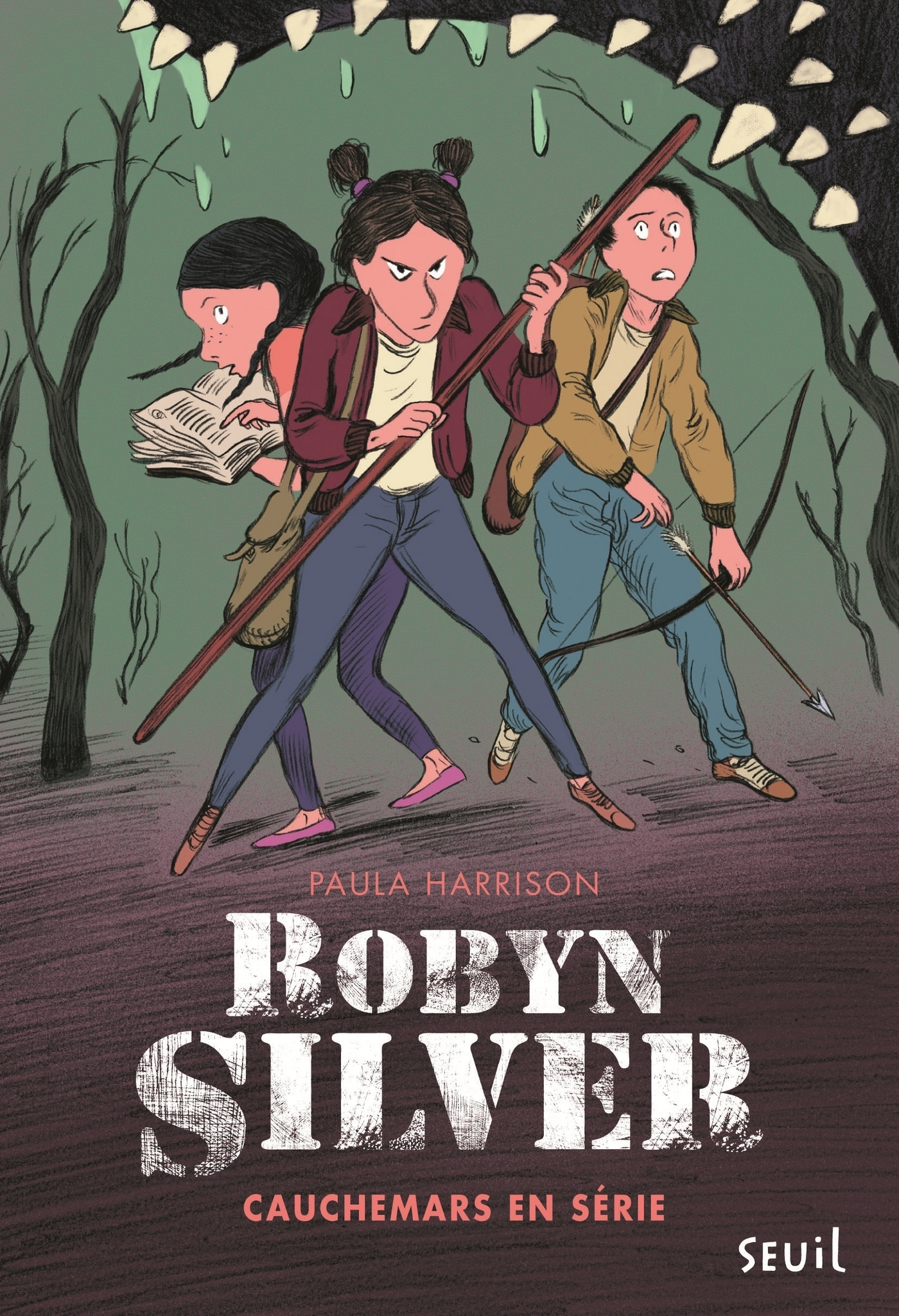 Robyn Silver - tome 2 Cauchemars en série | Harrison, Paula
