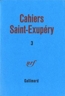 Cahiers Saint-Exupéry
