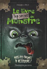 Image de couverture (Le livre top secret du monstre)