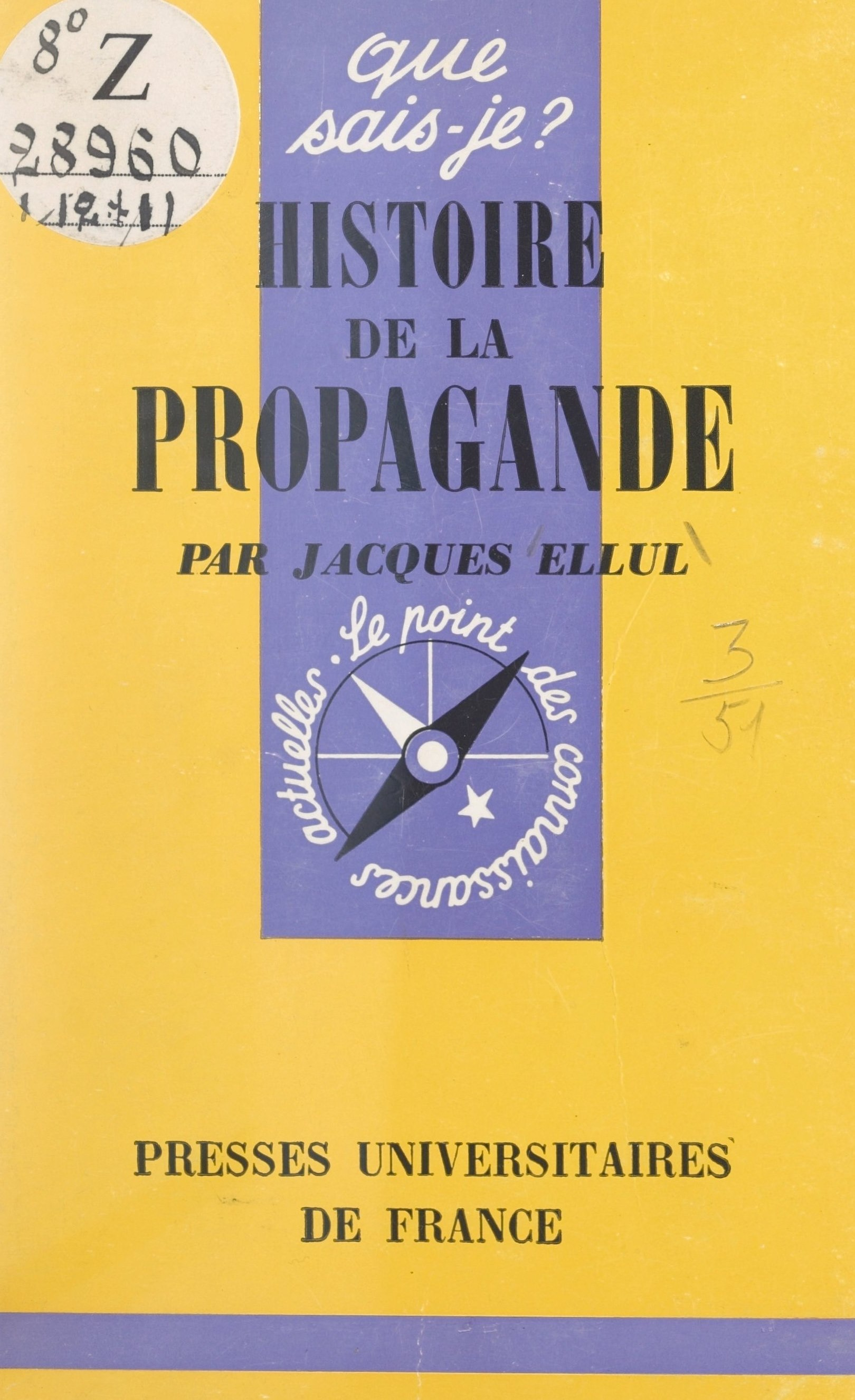 Histoire de la propagande