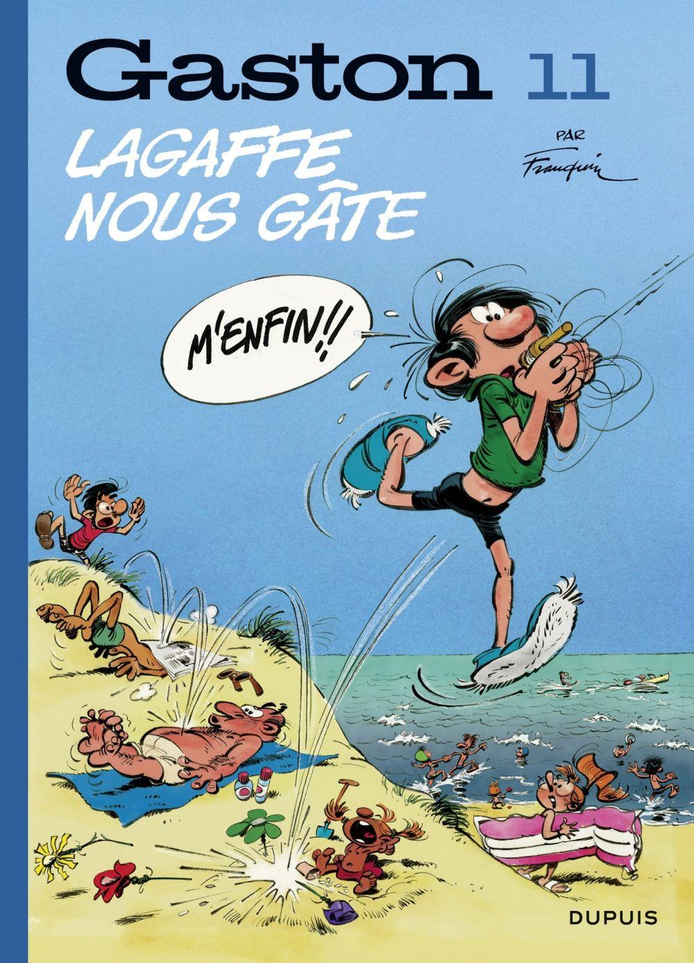 Gaston (Edition 2018) - tome 11 - Lagaffe nous gâte (Edition 2018)   Franquin, André (1924-1997). Auteur