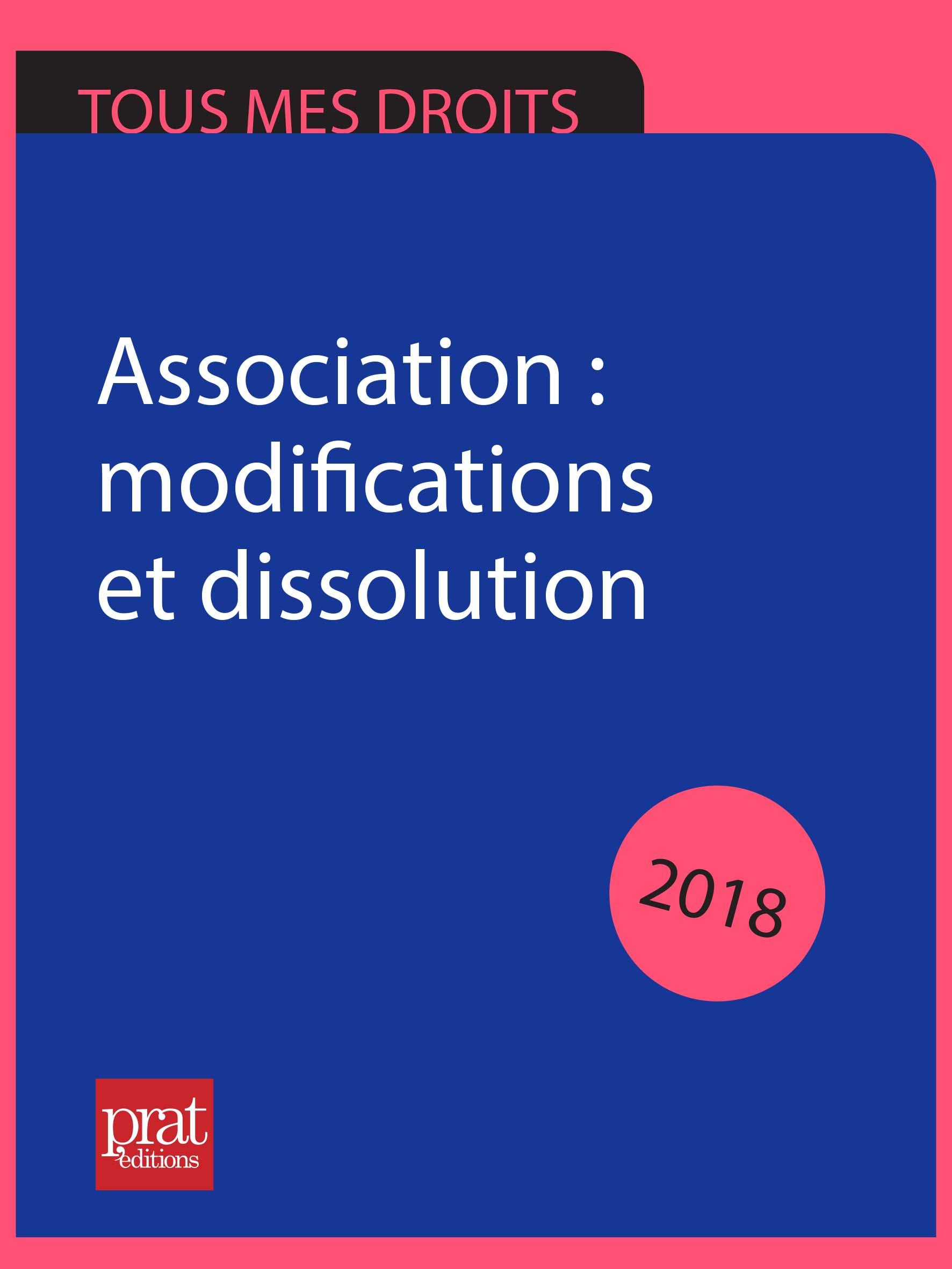 Association : modifications...