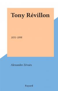 Tony Révillon
