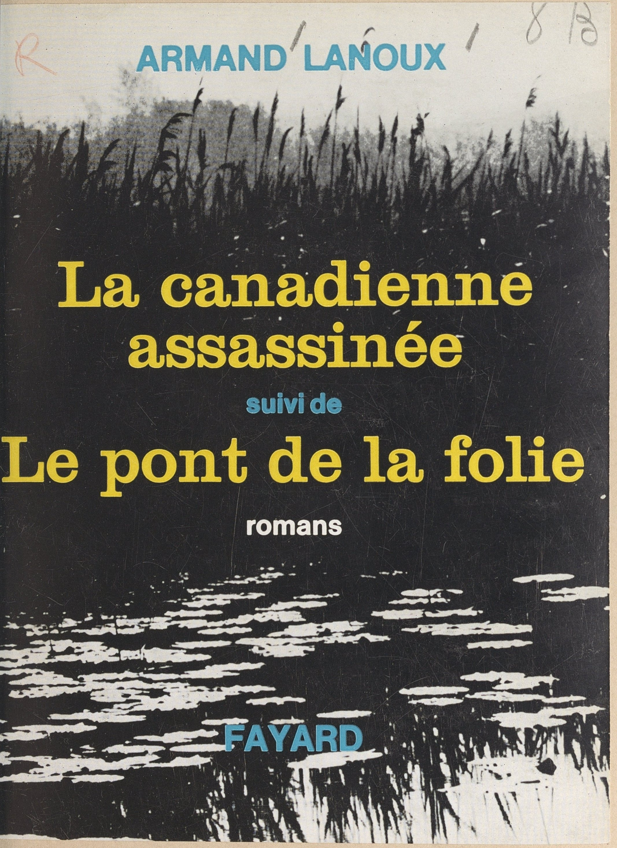 La Canadienne assassinée