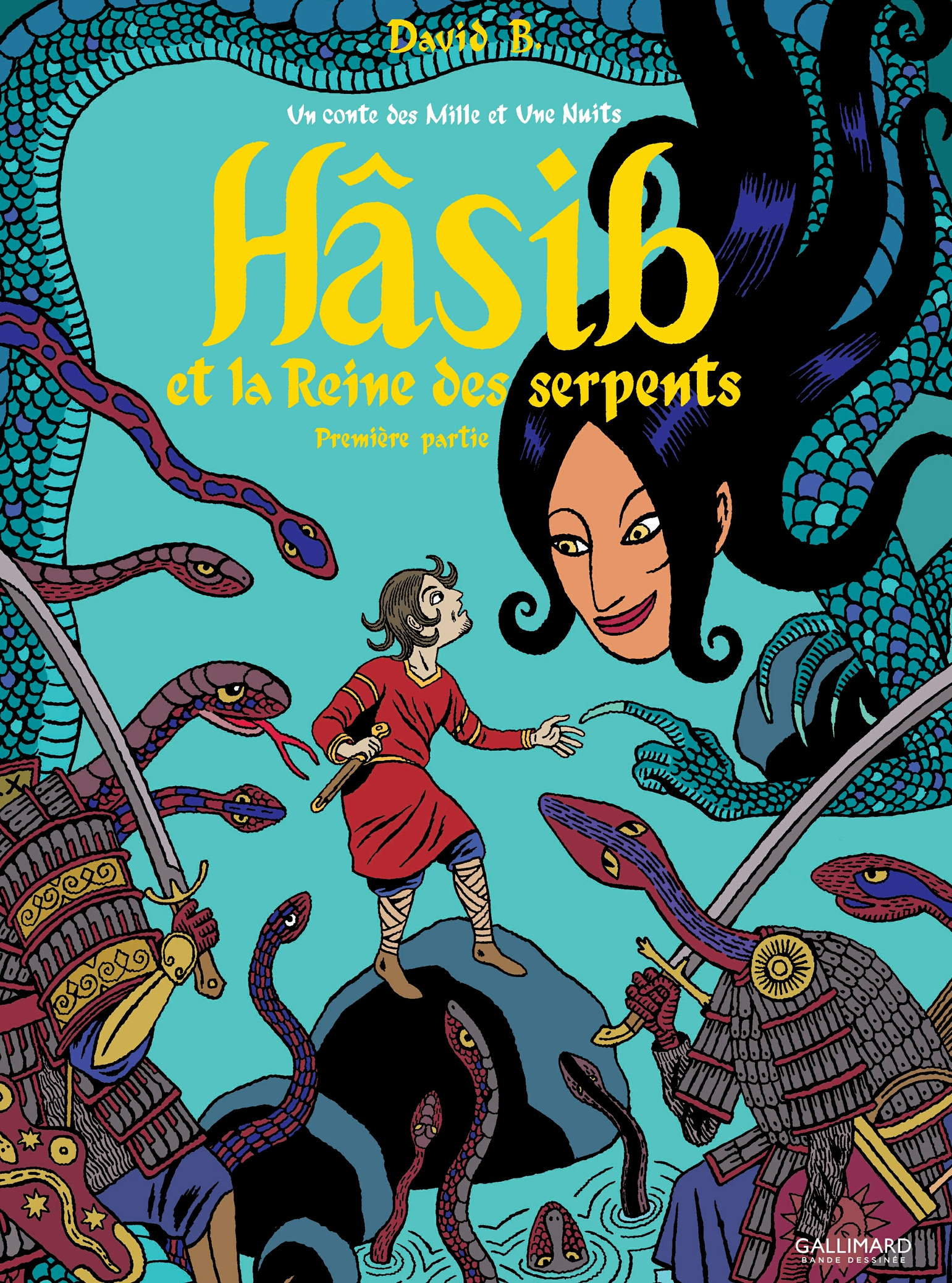 Hâsib et la Reine des serpents (Première partie). D'après un conte des Mille et une nuits   B., David
