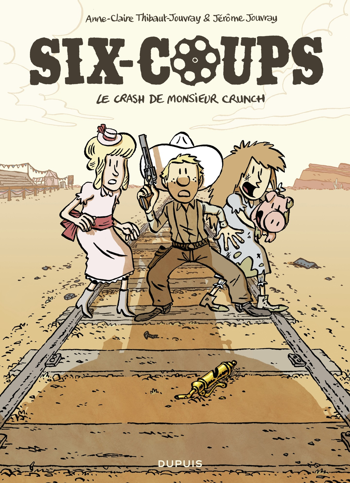Six-coups - tome 1 - Le cra...