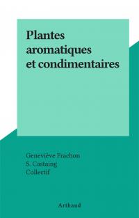 Plantes aromatiques et cond...