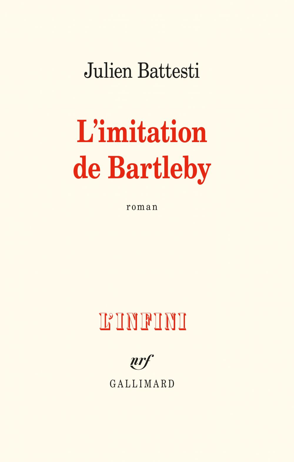 L'imitation de Bartleby |