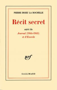 Récit secret / Journal (194...