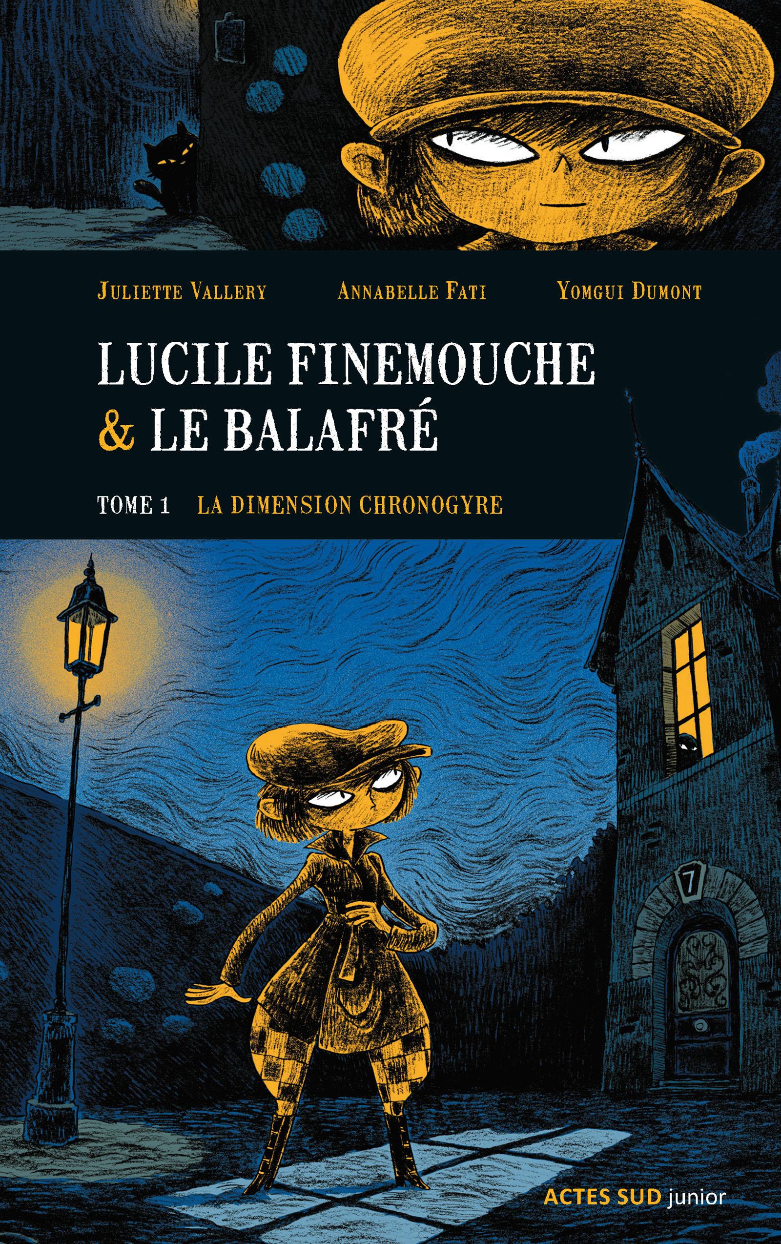 Lucile Finemouche et le Balafré - Tome 1  