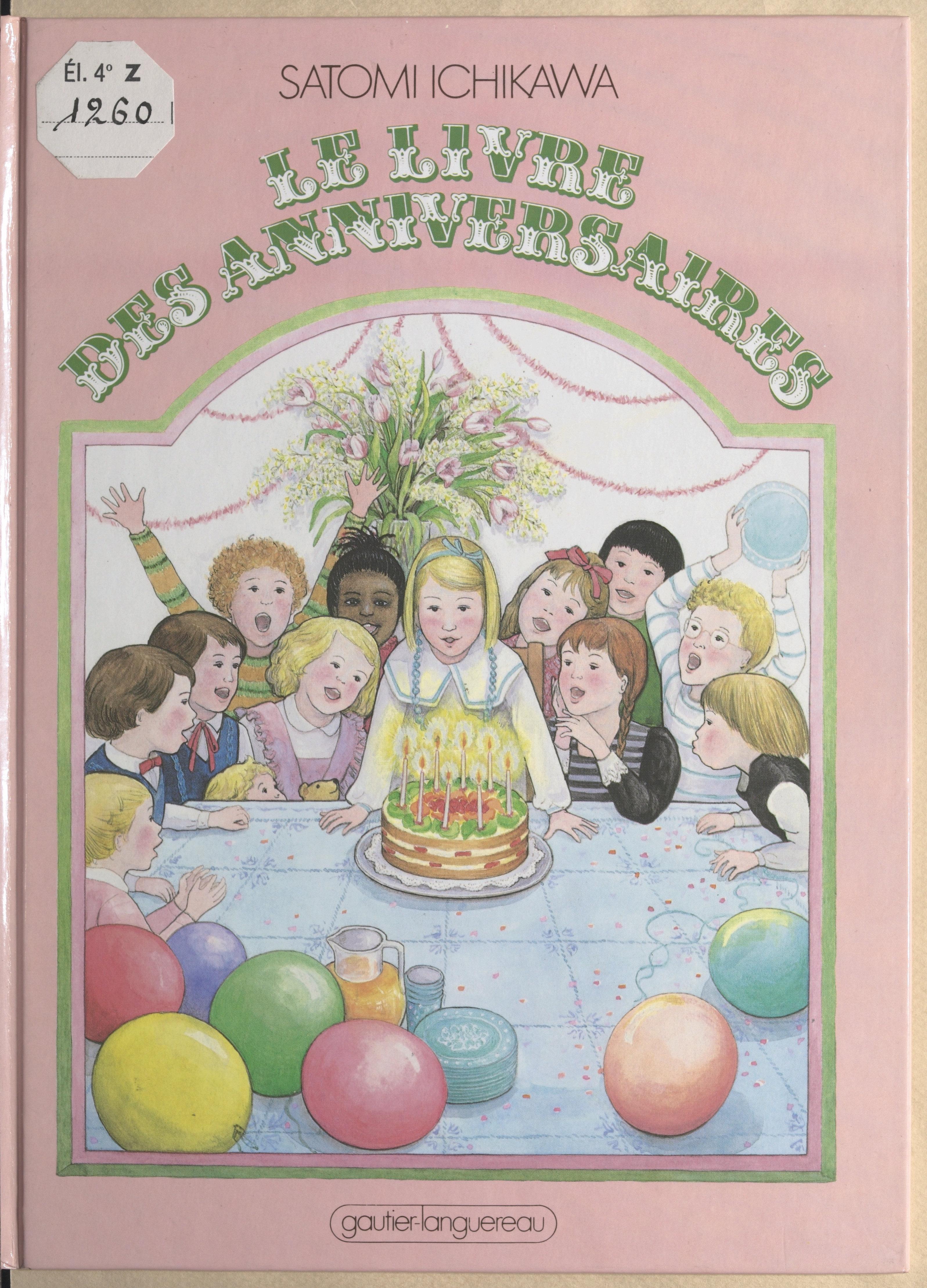 Le livre des anniversaires