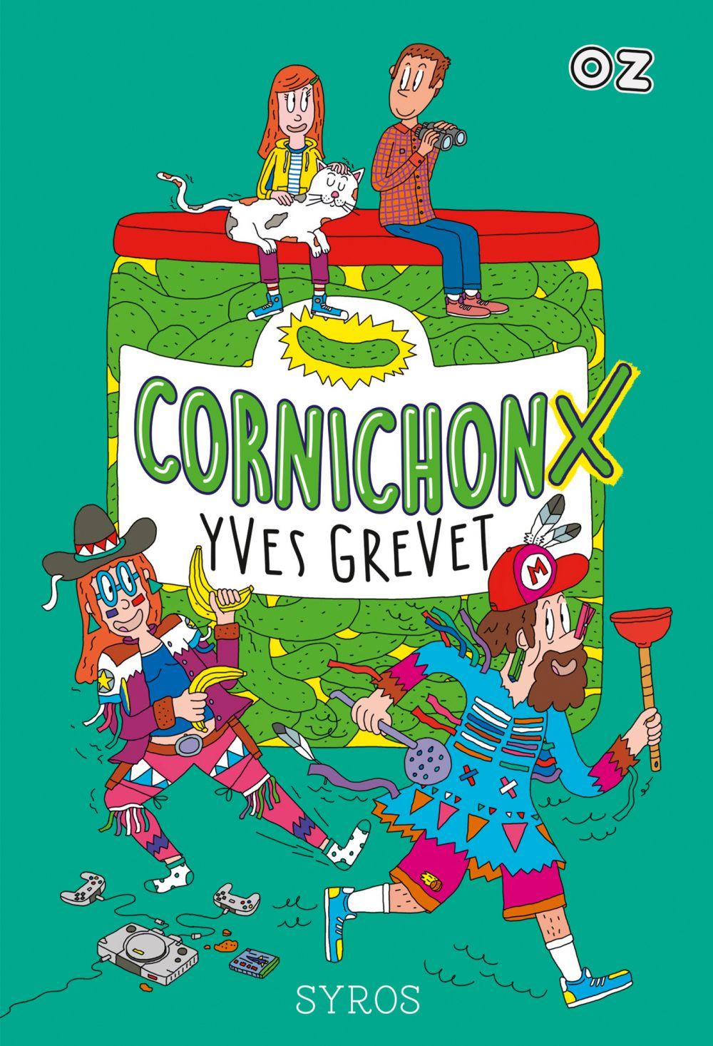 CornichonX - collection OZ | Grevet, Yves. Auteur
