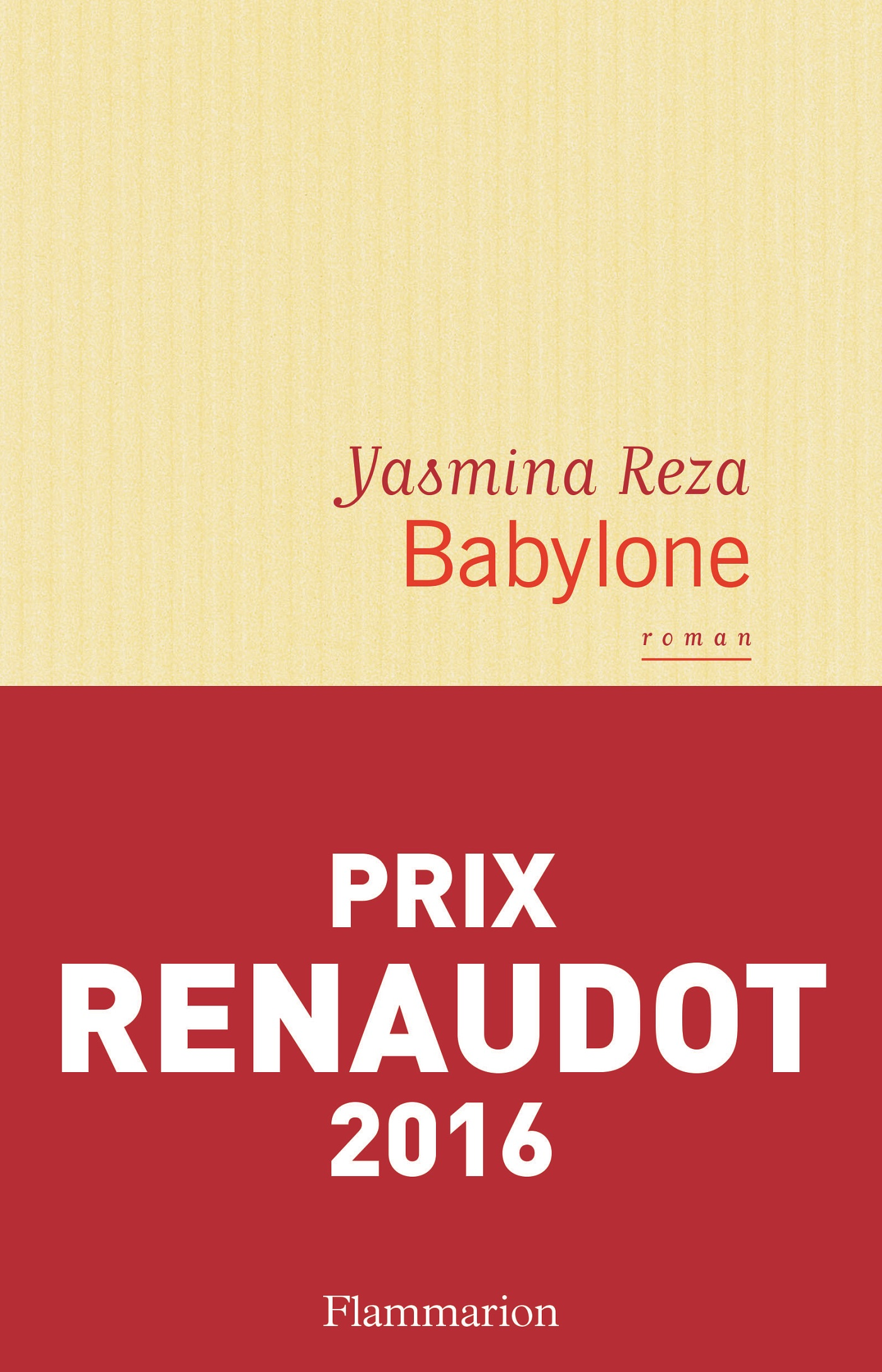 Babylone | Reza, Yasmina