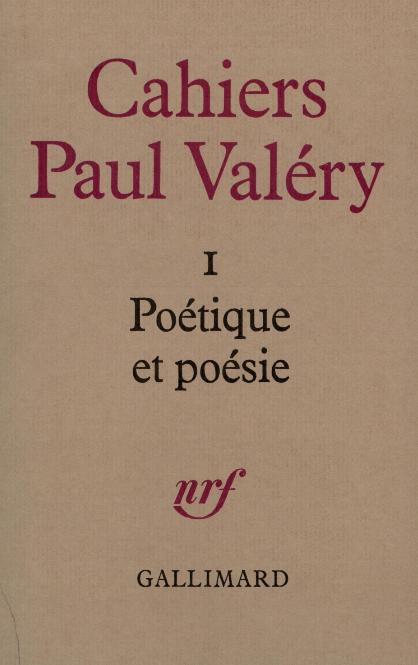 Poétique et poésie