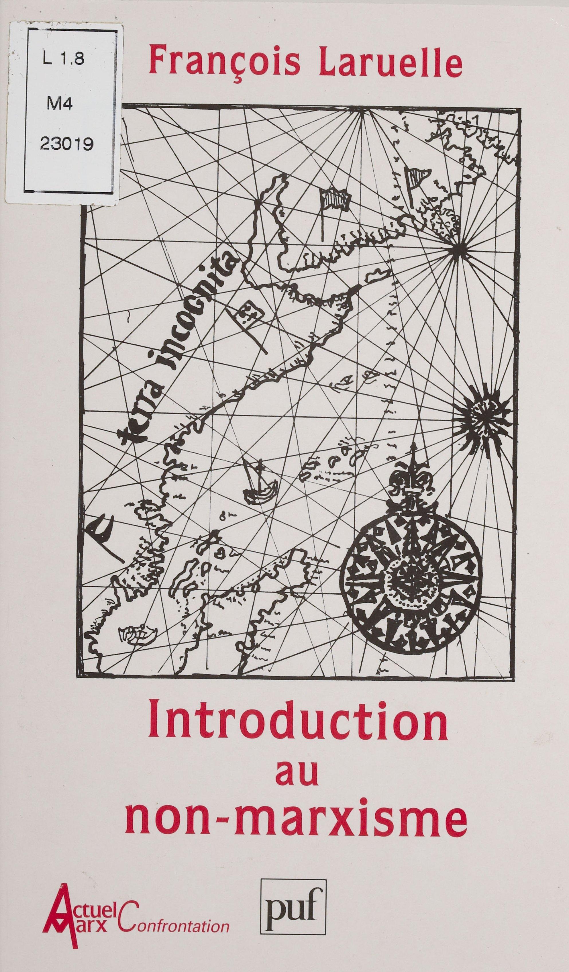 Introduction au non-marxisme